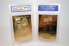 Star Wars EMPIRE STRIKES BACK Movie Poster 23KT Gold Card GEM MINT 10 * BOGO *