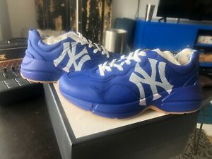 gucci sneakers NY Yankees