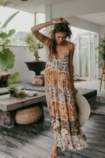 Spell desert daisy strappy dress gown