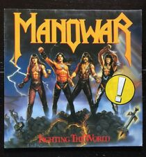 LP 33 GIRI MANOWAR FIGHTING THE WORLD 1987