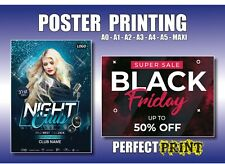 More details for poster printing gloss satin matt pvc canvas a0 a1 a2 a3 a4 personalised print