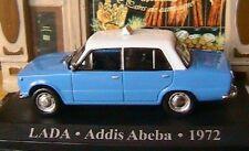 LADA 1200 TAXI ADDIS ABEBA ETHIOPIE 1972 1/43 BLEU BLUE