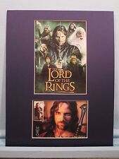 The Lord of the Rings - Aragorn  & First Day Cover of his own stamp