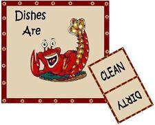 Louisiana Cajun Crawfish Dishwasher Magnet - Ship Free