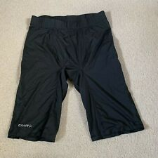 Craft Pro Cool men's lycra cycling running shorts in black - medium size