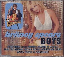 BRITNEY SPEARS - Boys - CDs SINGLE 2001 4 TRACKS SEALED