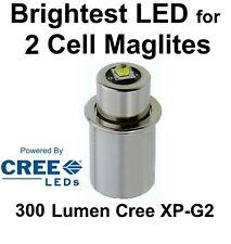 Maglite LED Upgrade CNC Cree XP-G2 Glühbirne 2 D/C Taschenlampe