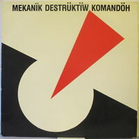 "MEKANIK DESTRUKTIW KOMANDOH Berlin 4-Song 12"" EP German Punk"