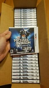 Nintendo 3DS Michael Jackson The Experience 3D BRAND NEW FACTORY SEALED Ubisoft