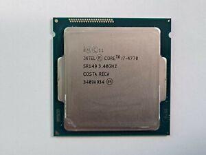 Lot of 2 Intel Core i7-4770 3.40GHz Quad-Core CPU Processors SR149