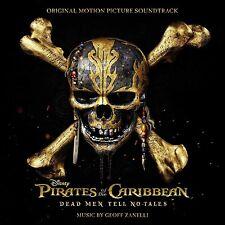 PIRATES DES CARAIBES : LA VENGEANCE DE SALAZAR (MUSIQUE) - GEOFF ZANELLI (CD)