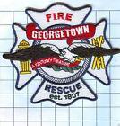 Fire Patch - Georgetown est 1807