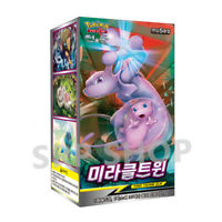 "Pokemon Cards Sun&Moon ""Miracle Twin"" SM11 Booster Box / Korean Ver"