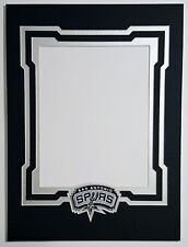San Antonio Spurs 12x16 mat for 8x10 photo. Tim Duncan Kawhi Leonard Tony Parker