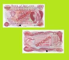 Ireland money 100 Pounds UNC - Reproductions