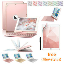 360° Swivel 7 Color Backlit Bluetooth Keyboard Case For iPad Pro 10.5 Air 3 2019