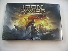 IRON SAVIOR - TITANCRAFT - BOXSET CD NEW SEALED 2016