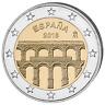 ESPAGNE 2 Euro Commémorative Aqueduc de Segovia 2016 UNC