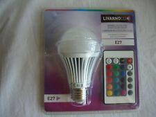 Bombilla LED efecto de colores con mando a distancia E27 3W 16 colores