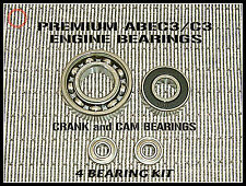 OS FS 61 OS 70 FS SURPASS II RC Engine BEARING KIT + CAM BEARINGs PREMIUM ABEC3