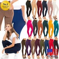 BL/_ Women High Waist Skinny Jeggings Pencil Pants Slim Stretch Denim Jeans Trous