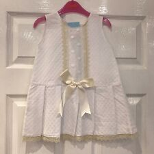 BABY GIRLS  SPANISH BOLERO WITH BOWS VB BY JULIANA  BNWT AGE 18 TO 48 MONTHS