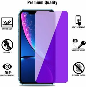 """for iPhone 11 / iPhone XR 6.1"""" Anti-Blue Light Screen Protector Tempered Glass"""