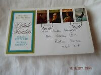 POST OFFICE FIRST DAY COVER BRITISH PAINTERS