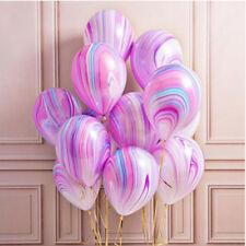 10pcs Marble Agate Latex Balloon Marblezided Party Balloon Christmas Decor Favor