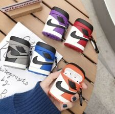 Nike Air Jordan One Apple AirPods Generation 1&2 Silicone Protective Case Cover