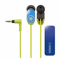 YAMAHA EPH-WS01 In-Ear Headphones With Wireless Unit Blue Beige NEW from Japan