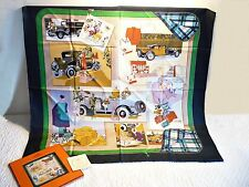 Genuine Hermes Vintage Silk Scarf 90x90 cms Boxed Never Worn Cathy Latham Design