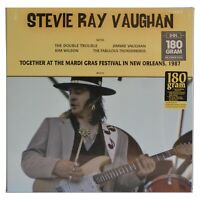 Stevie Ray Vaughan Together at the Mardi Gras Vinyl New 180 gram Record
