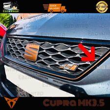 Eaziwrap Seat Leon Cupra Grill Outline Vinyl Pinstripe Sticker Decal COPPER