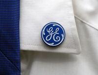 Pin GE General Electric Aircraft Company Totem Logo Emblem pin round metal
