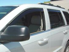 1999 - 2004 Jeep Grand Cherokee 4-Piece In-Channel Wind Deflector Shades