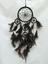 Stunning Black Dreamcatcher, black beads, comes in another 5 great colours
