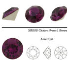 Genuine SWAROVSKI 1088 XIRIUS Chaton Round Foiled Crystals  More Colors