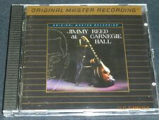 JIMMY REED - At Carnegie Hall / The Best Of - MFSL. Gold CD. 2LP on 1CD.