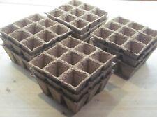 108 Godets pour semis 100% BIO pot cellulose et tourbe fabrication Française