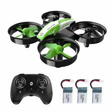 Holy Stone HS210 Mini Drone 3D Flip Auto Hovering RC quadcopter 3 batteries Gift