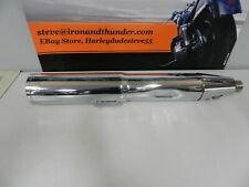 "Harley Davidson Touring Vance & Hines 4"" 3/8"" Chrome HI-Output LH Slip-On"