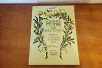 Franz Liszt: Complete Etudes for Solo Piano: Series I, Transcendental, Excellent