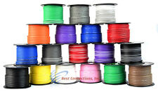 14 GA GAUGE 100 FT SPOOLS PRIMARY AUTO REMOTE POWER GROUND WIRE CABLE (4 ROLLS)