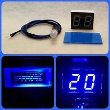Cobra 25, Uniden 68, Galaxy 73V, Blue Meter Channel Display Kit Common Cathode