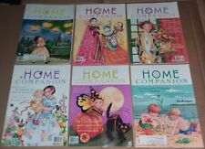 Mary Engelbreit's Home Companion Magazine lot of 6 issues 1999 2000 paper dolls