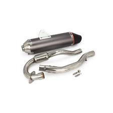 Full Exhaust Muffler System Slip On For Honda CRF150F CRF230F 2003-13 Dirt Bike