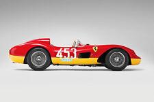 VINTAGE 1957 FERRARI 500 TRC RACE CAR POSTER PRINT STYLE A 24x36 HIGH RES