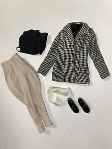 """Franklin Mint  Jackie Kennedy doll  Riding outfit only missing helmet 15"""""""