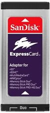 SanDisk ExpressCard Reader/Writer SD SDHC MS Memory Stick Duo MacBook Pro/P